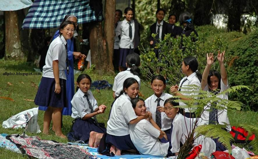 Indian School Girls Baby Young